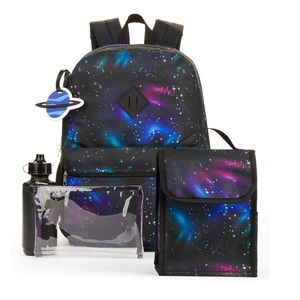 Handbags - Galaxy Space Full Sized 5 set backpack lunch
